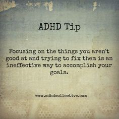 ADHD Tip. #adhdcollective #adhdquotes