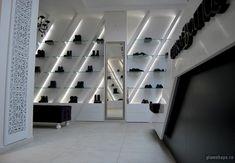 Charme luxury shoe boutique, Bucharest  store design
