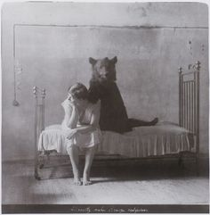 a girl and her bear