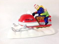 Department 56 the Original Snow Village SnoJet Snowmobile 51594 *** Learn more by visiting the image link. (This is an affiliate link) #CollectibleFigurines