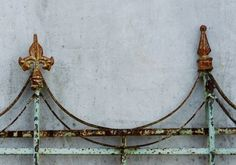 RUSTED Ornate Iron Railing 8 x 10 Photo Art Print by DaysLight,