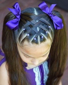 Best Picture For toddler hairstyles girl thin For Your Taste You are looking for something, and it i Cute Toddler Hairstyles, Easy Little Girl Hairstyles, Girls Hairdos, Baby Girl Hairstyles, Kids Braided Hairstyles, Toddler Hair Dos, Black Hairstyles, Hairstyles For Toddlers, Children Hairstyles