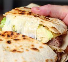 Giant Quesadilla Big Mac