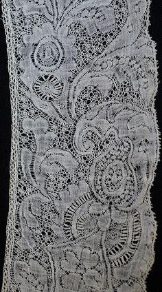 17th century Binch Lace - Cawthorne Textiles