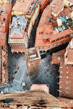 Located about halfway between Venice and Florence, Bologna gets its nickname, La Rossa (the red one), from the ubiquitous terracotta buildings in the medieval city center.