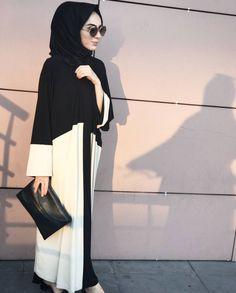 Pinterest @adarkurdish Islamic Fashion, Muslim Fashion, Modest Fashion, Modest Wear, Modest Outfits, Trendy Outfits, Hijab Evening Dress, Hijab Dress, Hijab Style