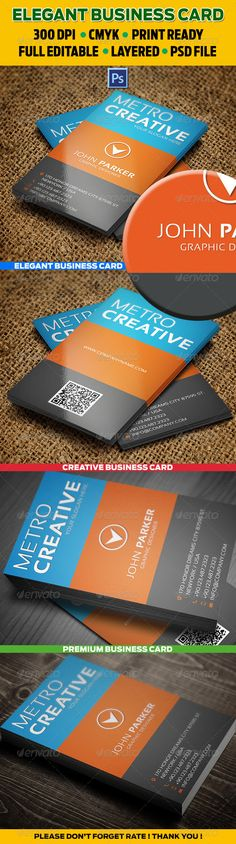 Simple elegant business card reheart Images