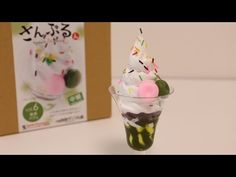 Food Sample Making Kit Pineapple Parfait ~ さんぷるん 自分で作る ...