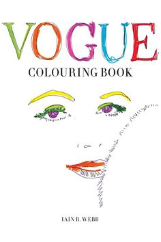 Introducing: The Vogue Colouring Book