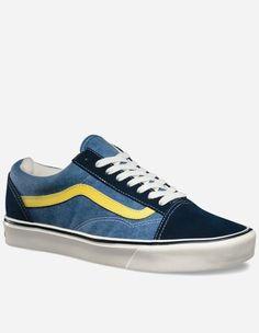 Vans - Old Skool Lite+ Schuh Reissue blue lemon