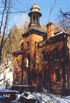 West Point Foundry began operations in 1817 just south of downtown Cold Spring, New York.