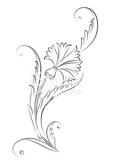 Embroidery Pattern of Turkish Carnation from Vinyl-Fototapete Carnation Blumen-Muster-Fliesen- - Kunst und Gestaltung. Hand Embroidery Patterns, Machine Embroidery, Embroidery Designs, 3d Templates, Turkish Art, Motif Floral, Tile Art, Carnations, Pyrography