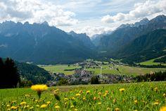 Toblach - Hochpustertal/Südtirol Hauptsitz der Firma Pircher Oberland