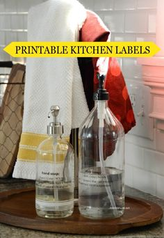 Stylish and convenient, these free Printable Kitchen Labels are the perfect way to keep your kitchen organized and efficient.