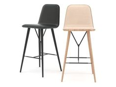 Fredericia Furniture Spine barstool 3d model |  SPACE Copenhagen