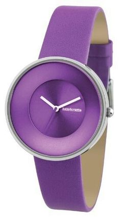 Lambretta Purple Cielo Leather Strap Slim Line Ladies Watch. A sleek and stylish ladies watch. Purple leather strap, numberless purple dial, simple and elegant. Purple Rain, Purple Love, Purple Lilac, Shades Of Purple, Deep Purple, Purple Candy, Purple Amethyst, Purple Stuff, All Things Purple