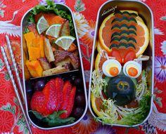 more Year of the dragon food art.
