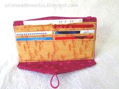 Color Me domestica: Il Portafoglio perfetta: fai da te Tessuto Portafoglio