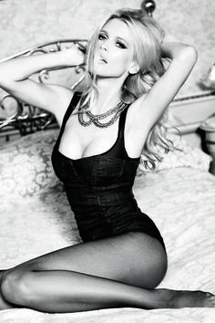 Guess' 30th anniversary campaign taps supermodel Claudia Schiffer for a series of sexy and flirty black and white images shot by Ellen von Unwerth.