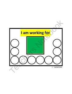 """""""Token Boards & Themed Tokens"""" for Autism from Inspired by Evan Autism Resources on TeachersNotebook.com - (13 pages) - """"Token Boards & Themed Tokens"""" for Autism"""