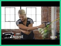 Golf Tips Swings Resistance-Band Exercises That Help Synchronize Your Swing Golf Exercises, Resistance Band Exercises, Golf Swing Training Aids, Woods Golf, Golf Videos, Golf Instruction, Golf Tips For Beginners, Golf Quotes, Golf Lessons