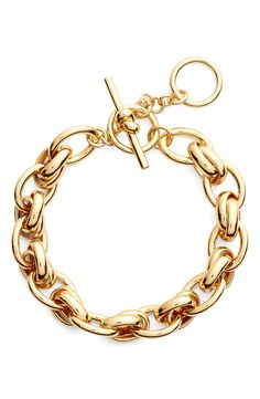 kate spade new york 'how charming' chain link bracelet