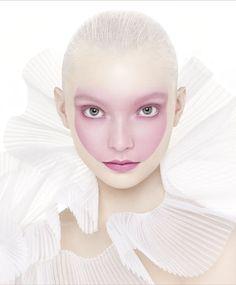 Head - interesting face makeup