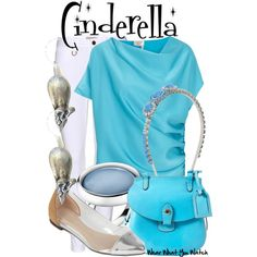 Cinderella Inspired Outfit