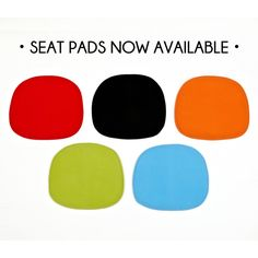 Eames   DSW, DSR, DSS Seat Pad