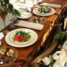 Watermelon & Feta Wedding Salad Real-Life Weddings by The Kendal Companies - Home - Rockmart, GA