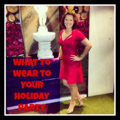 How I got to wear Herve Leger to my Holiday Party! #RentTheRunway #HerveLeger