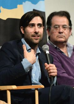 "Jason Schwartzman takes part in a discussion for the film ""The Grand Budapest Hotel"" during hte 2014 SXSW Music, Film Interactive Festival at Paramount Theatre in Austin, Texas, on March 10, 2014"