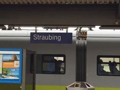 Ankunft am Bahnhof in Straubing