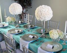 Breakfast at Tiffany's themed bridal shower on Hostess with the Mostess® - Breakfast with Christa
