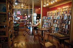 Inquiring Minds Bookstore and Cafe in Saugerties, NY. #HudsonValley #bookstores