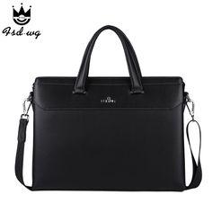 New simple briefcase shoulder bags mens crossbody bag bolsas famous brand design mens business handbag men bolsos wholesale
