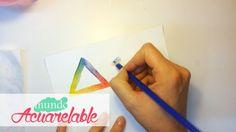 La mezcla de color en los Lápices Acuarelables - Técnicas Básicas - Parte 3