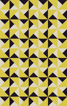 links This is a block repeat pattern. I like this pattern as it only uses triangles.This is a block repeat pattern. I like this pattern as it only uses triangles. Geometric Patterns, Graphic Patterns, Geometric Designs, Geometric Shapes, Graphic Design, Pattern Texture, Surface Pattern, Pattern Art, Pattern Designs