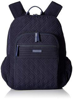 64d4e8ac8ff7 Vera Bradley Women's Backpack, Classic Navy Review Vera Bradley Wallet,  Women's Backpack, Leather