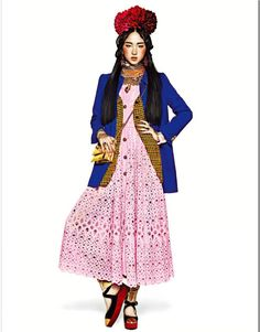 Ethnic Carnival by Trunk Xu,Harper's Bazaar China December 2012 http://www.chinesefashionstyle.com/