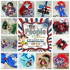 """We The People"" Auction is OPEN Over At The BowFairies' FB Page. A portion of the proceeds will go to The Wounded Warrior Fund. Link to auction album: https://www.facebook.com/TheBowfairies/photos/?tab=album&album_id=10153779822453920"