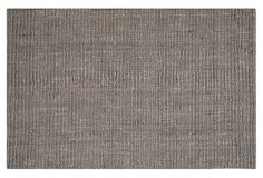 Ale Sisal Rug, Light Gray