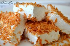 Coconut Marshmallows! I will make the vegan version of this shortly ;-)