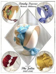 Julia Bonnet Pattern $10