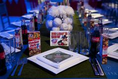 Party ideas for a sports-themed bar mitzvah • Bar & Bat Mitzvah Guide