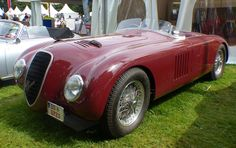 1947 ALFA ROMEO 6C 2500 SS CORSA BARCHETTA - by Carrozzeria Touring Superleggera of Turin.