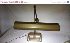 Everythings On Sale Vintage Mid Century 1960's Industrial Age Magic Arm Swing Arm Desk Light Free shipping