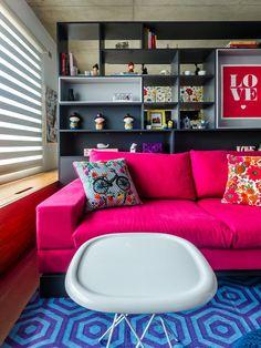 Sala - Apartamento em São Paulo, Foto Ronaldo Rizzutti