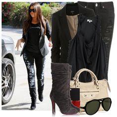 khloe kardashian style. Lovin it :)