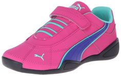 PUMA Tune Cat Nubuck 2 Velcro Sneaker (Infant/Toddler/Little Kid),Beetroot Purple/Spectrum Blue/Electric Green,5 M US Toddler PUMA,http://www.amazon.com/dp/B00DULVCHG/ref=cm_sw_r_pi_dp_Gugztb17GWSFJ475